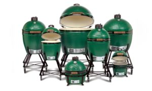 Complete family of big green egg products